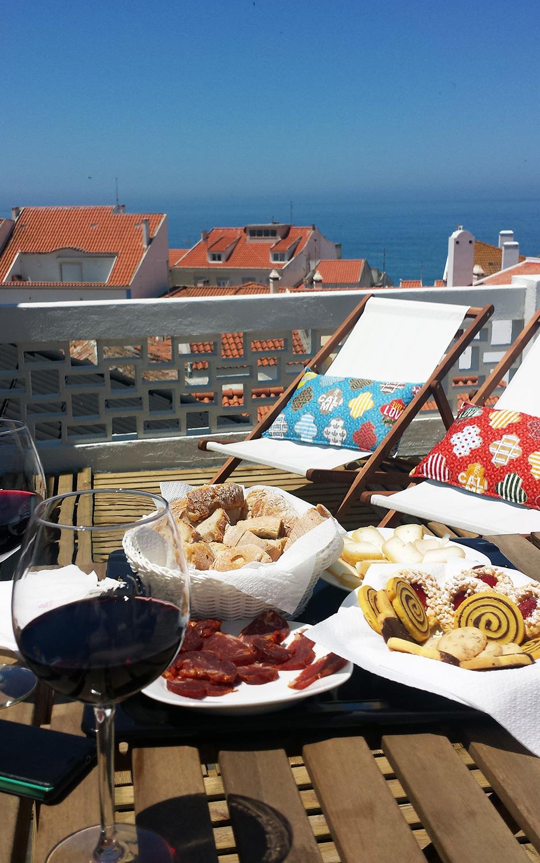 Ericeira_airbnb_kattoterassi_Parasta_matkalla_blogi