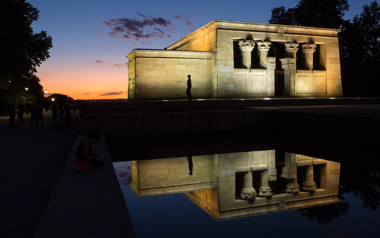 Templo de Debod on egyptiläinen temppeli Madridissa